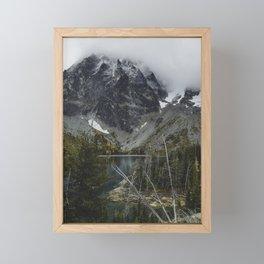 Alpine Lake in Washington Framed Mini Art Print