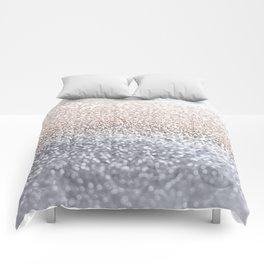 SILVER GLITTER Comforters