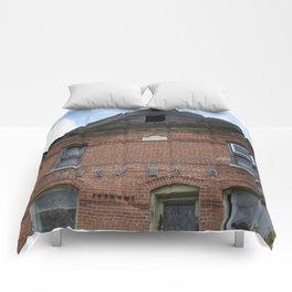 Red Brick Dreams Comforters