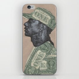 HUSSLE iPhone Skin