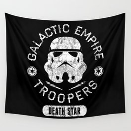 """""""Galactic Empire Troopers"""" by Josh Ln Wall Tapestry"""