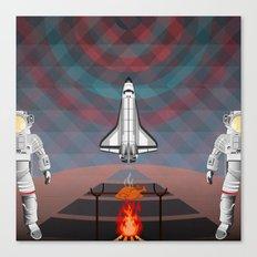 Space Tourism  Canvas Print