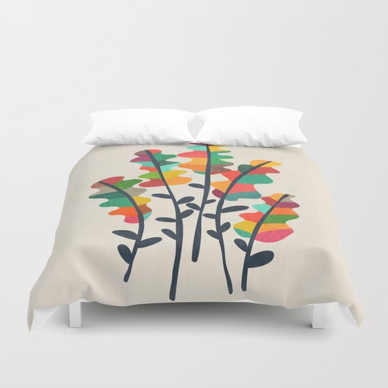 Flower from the meadow Duvet Cover