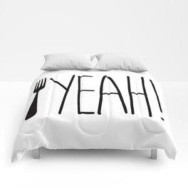 Fork Yeah! Comforters
