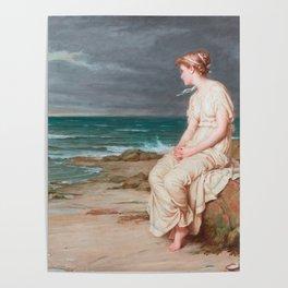 Miranda, John William Waterhouse Poster