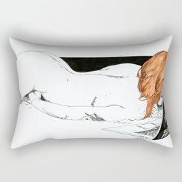 NUDEGRAFIA - 32 Don't Panic Rectangular Pillow