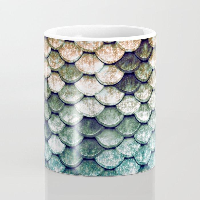 Mermaid Tail Teal Ocean Coffee Mug