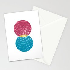 Stars Collide  Stationery Cards