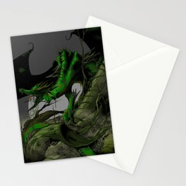 Dungeons, Dice and Dragons, Green Dragon Stationery Cards
