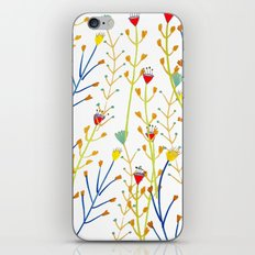 Floral pattern, illustration pattern, flowers, prretty iPhone & iPod Skin