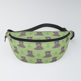 Black Bear Fanny Pack