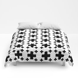 Jerusalem Cross 2 Comforters