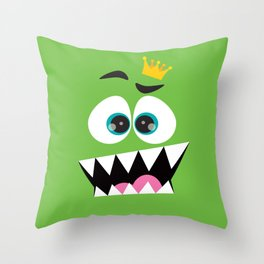 face the king... Throw Pillow