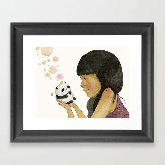 I adore you, baby Framed Art Print
