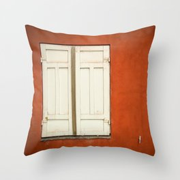Window Copenague Throw Pillow