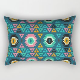 Happy ethnic shapes Rectangular Pillow