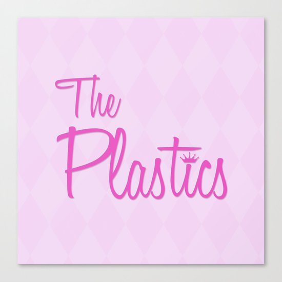 The Plastics - from the movie Mean Girls Canvas Print