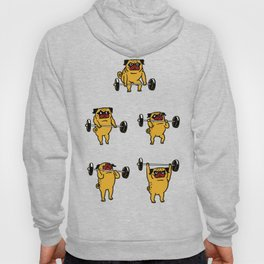 Clean and Jerks Pug Hoody