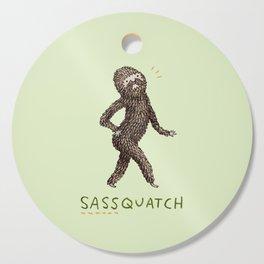Sassquatch Cutting Board