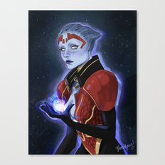 the justicar Canvas Print