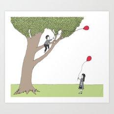 The Getting Tree Art Print