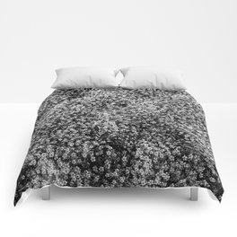 Snowy Blossoms Comforters