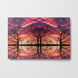 After The Last Leave Falls Metal Print