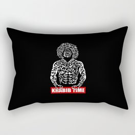 Khabib Angry Time Rectangular Pillow