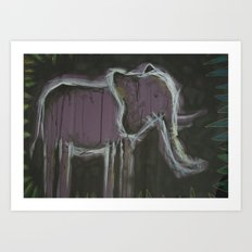 detrimental tension Art Print