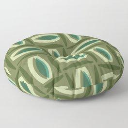 Alcedo - Green Floor Pillow