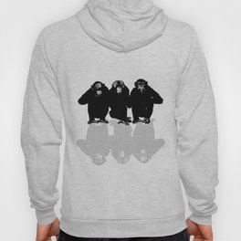 3 Monkeys Hoody