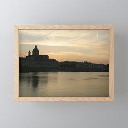 The Sky over Florence Framed Mini Art Print