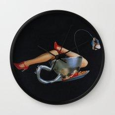 Marilyn Cup Wall Clock