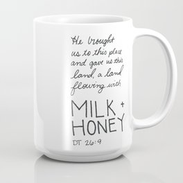 Milk + Honey Coffee Mug