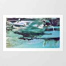 All About Water Art Print