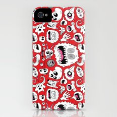 Another Monster Pattern Slim Case iPhone (4, 4s)