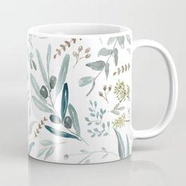 Eucalyptus pattern Coffee Mug