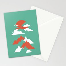 Fall Mountains Stationery Cards