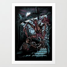 The Dead's Pace Art Print