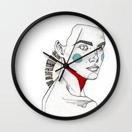 Saliva Wall Clock
