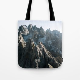 Dolomites Mountains - Landscape Photography Tote Bag