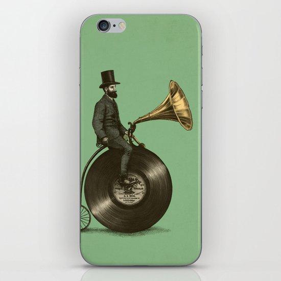 Music Man (Green Option) iPhone & iPod Skin