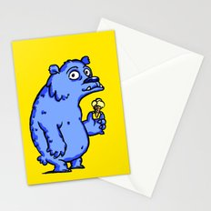 Dude on Icecream Stationery Cards