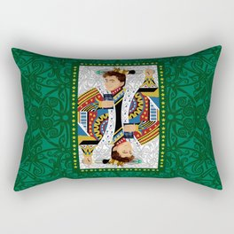 The kings of all cards Rectangular Pillow