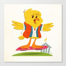Hover Bird Canvas Print