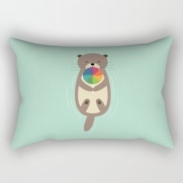 Sweet Otter Rectangular Pillow