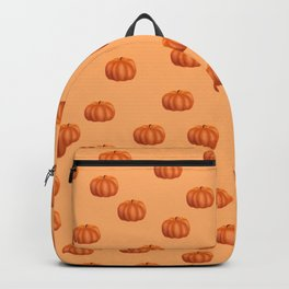 Cute Little Pumpkin Pattern | Autumn/Fall Illustration | Orange | Nature & Seasons Backpack