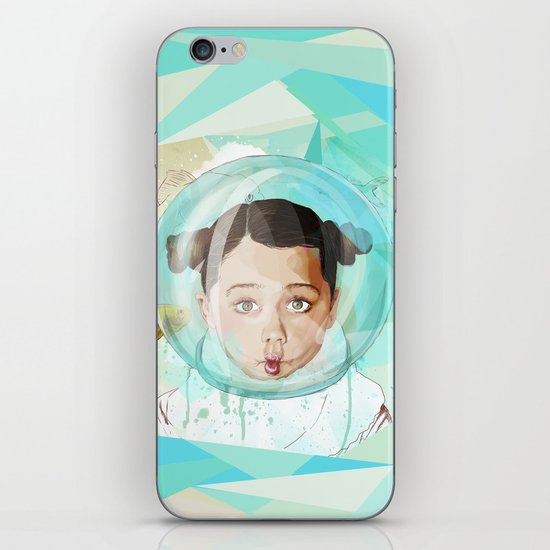 Fish Girl iPhone & iPod Skin