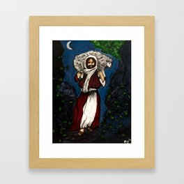 He Will Carry You Framed Art Print