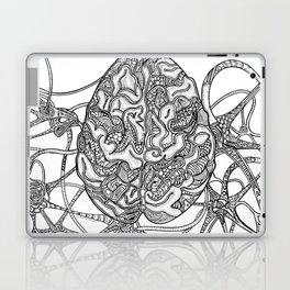 Neurons & Brain Laptop & iPad Skin